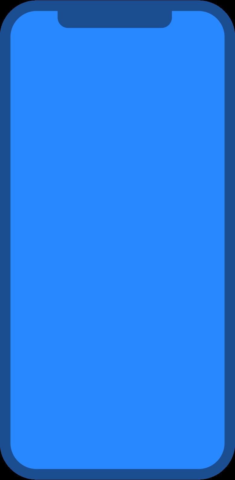 Ilustración de clipart de smartphone en PNG, SVG