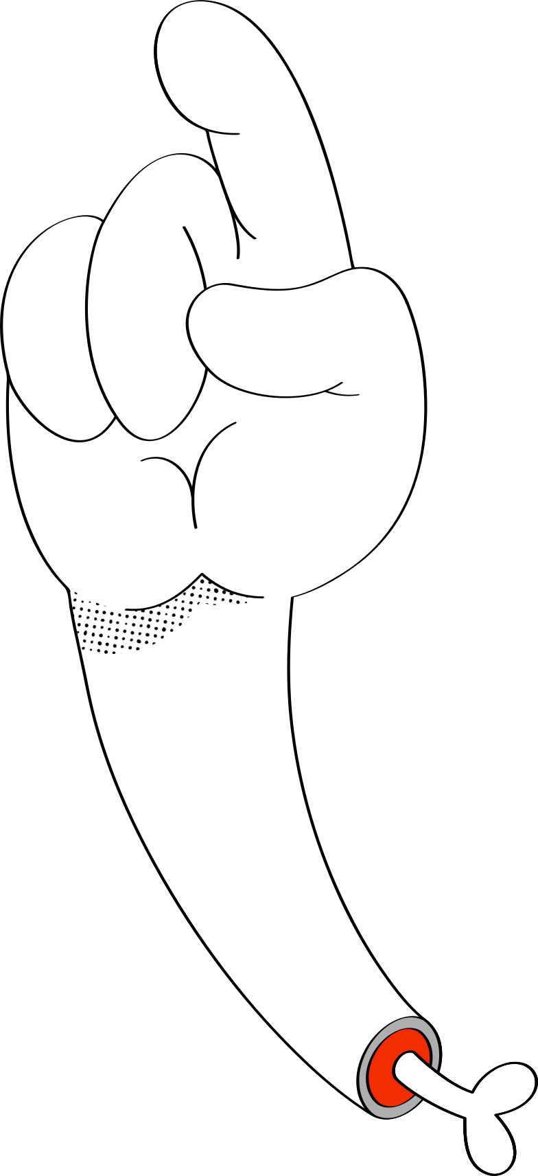 hand Clipart illustration in PNG, SVG