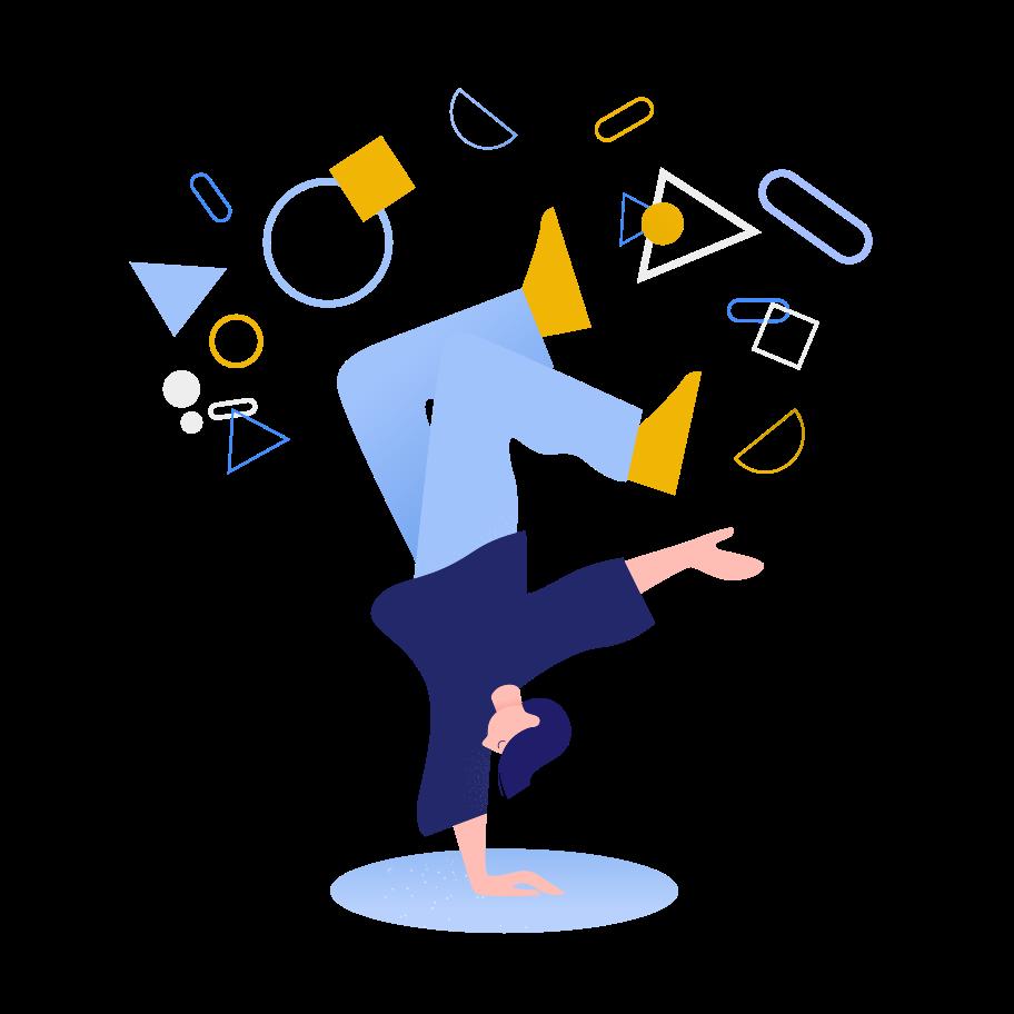 tänzer Clipart-Grafik als PNG, SVG