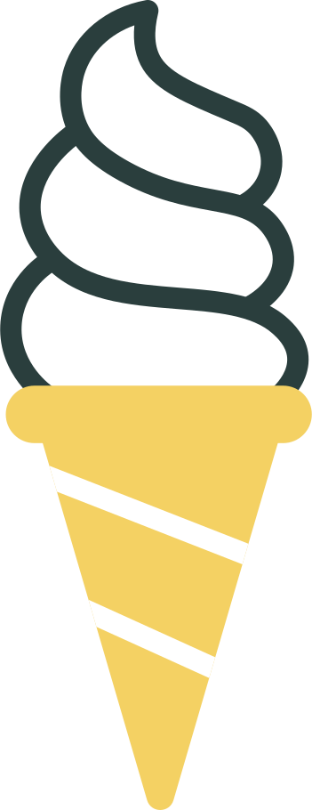 ice cream cone Clipart illustration in PNG, SVG