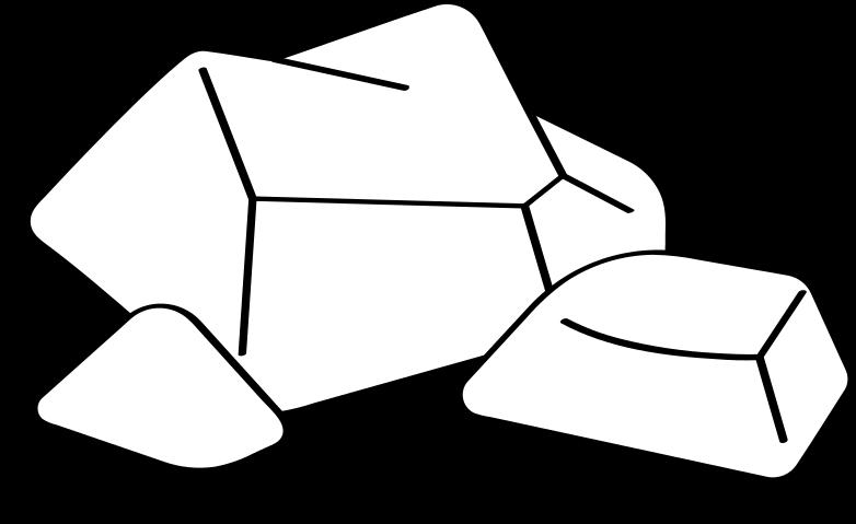 rocks Illustrazione clipart in PNG, SVG