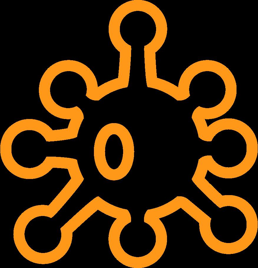 Style  contour coronavirus jaune Images vectorielles en PNG et SVG | Icons8 Illustrations