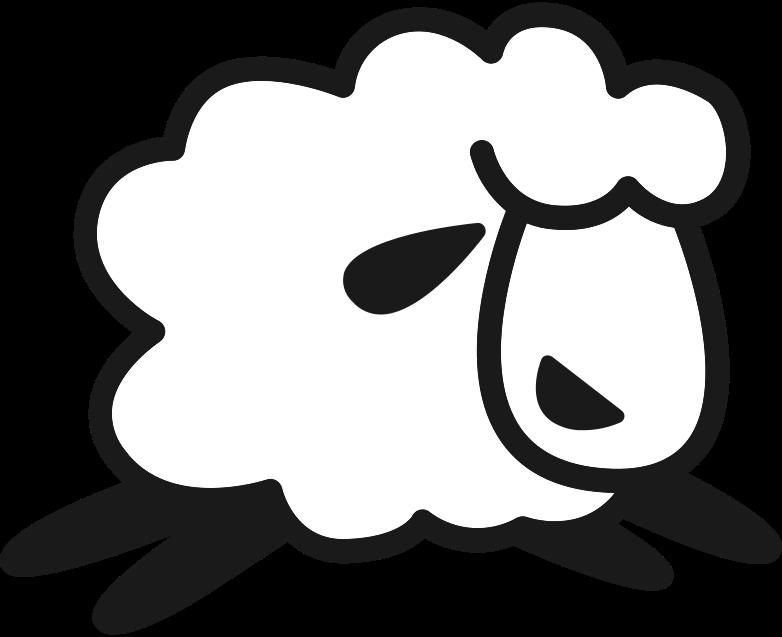 little sheep Clipart illustration in PNG, SVG