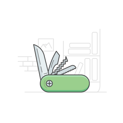 style Pocket knife images in PNG and SVG | Icons8 Illustrations