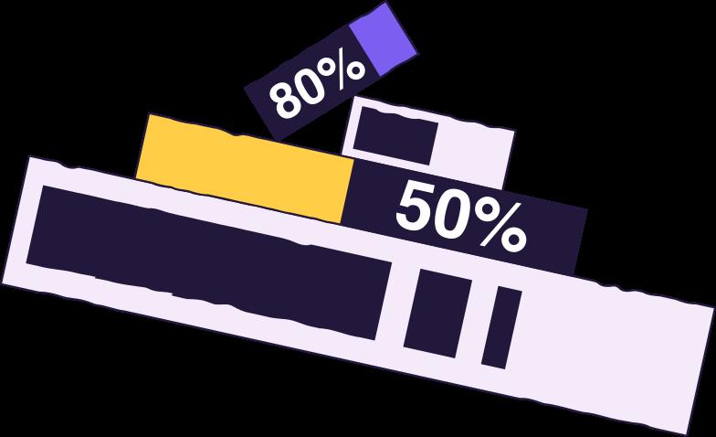 uploading  progress bars Clipart illustration in PNG, SVG