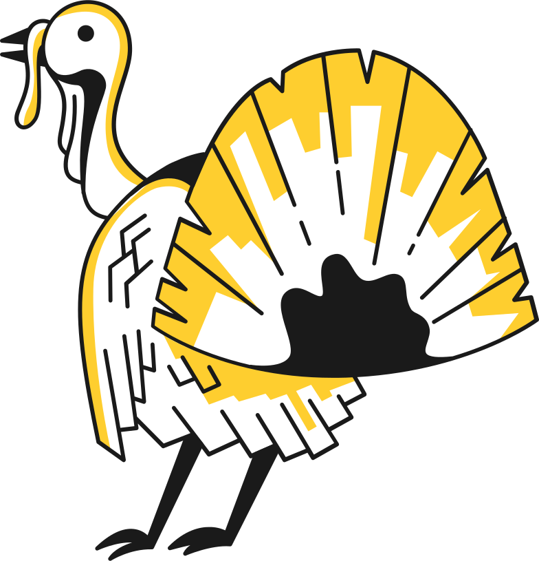 style turkey Vector images in PNG and SVG | Icons8 Illustrations