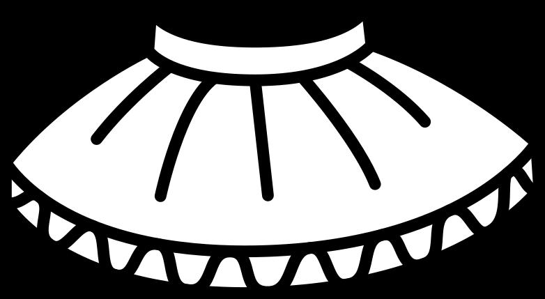 tutu skirt Clipart illustration in PNG, SVG