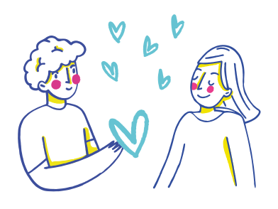 style Couple in love  images in PNG and SVG | Icons8 Illustrations