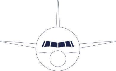 style front of airplane line images in PNG and SVG | Icons8 Illustrations