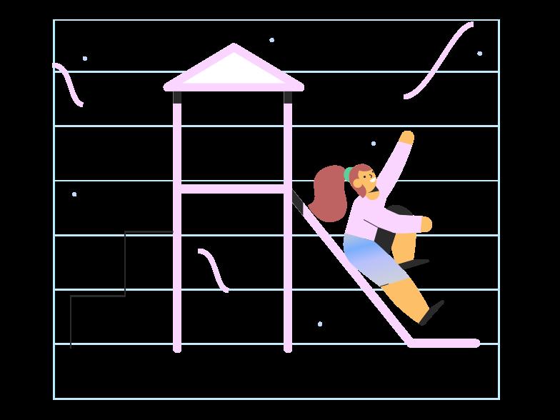 Spielplatz Clipart-Grafik als PNG, SVG