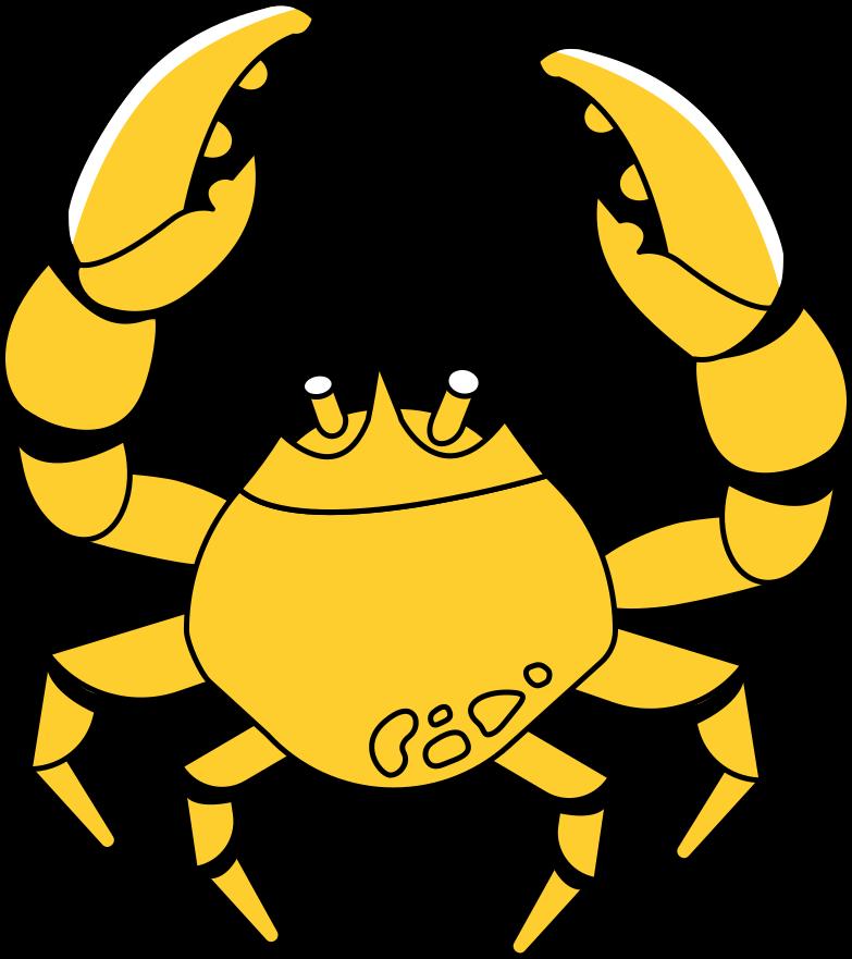 crab Clipart illustration in PNG, SVG