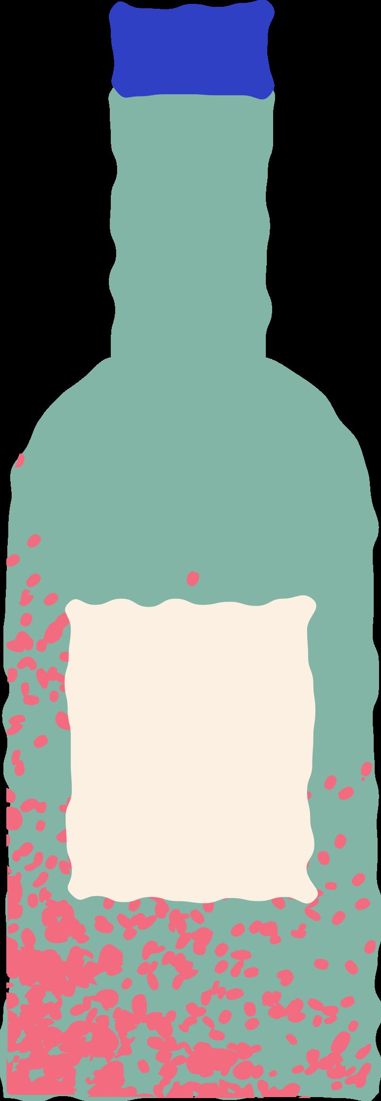 bottle vine Clipart illustration in PNG, SVG