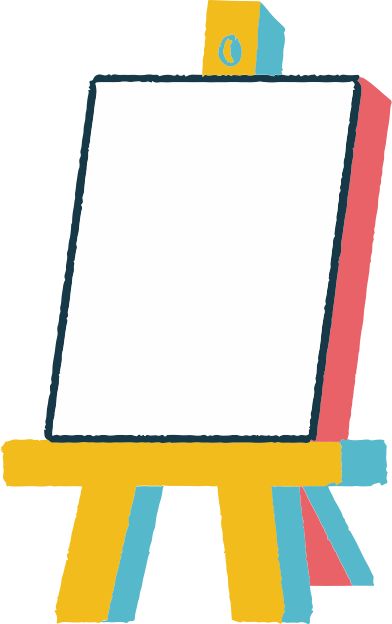 style easel images in PNG and SVG | Icons8 Illustrations