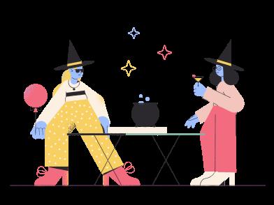 Иллюстрация Halloween party в стиле  в PNG и SVG | Icons8 Иллюстрации