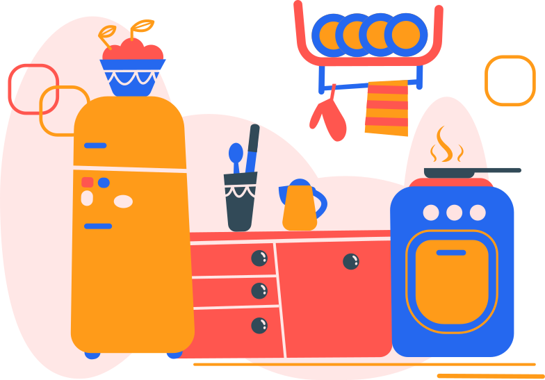 kitchen Clipart illustration in PNG, SVG