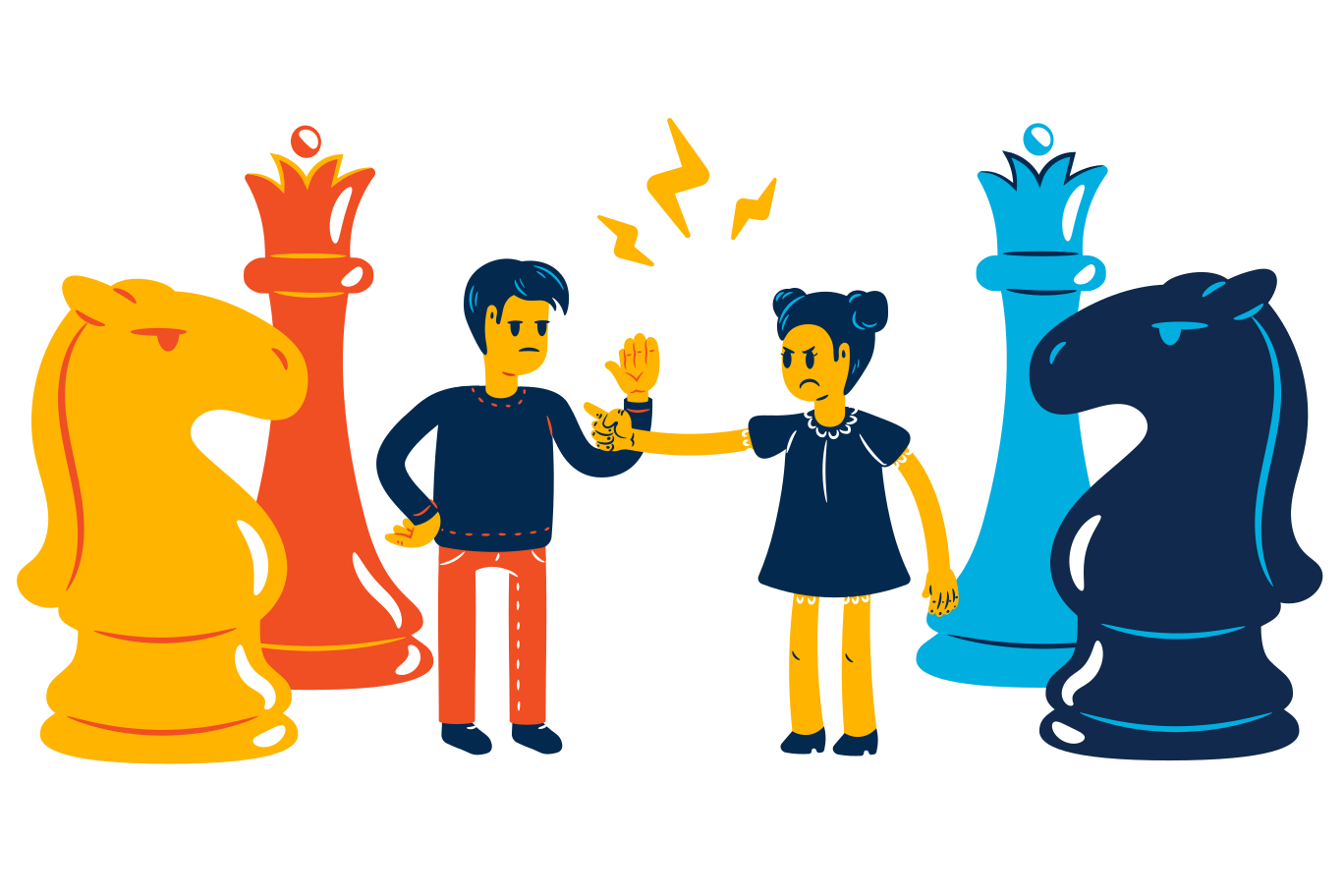 Game of chess Clipart illustration in PNG, SVG