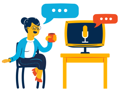 style Voice assistant images in PNG and SVG | Icons8 Illustrations