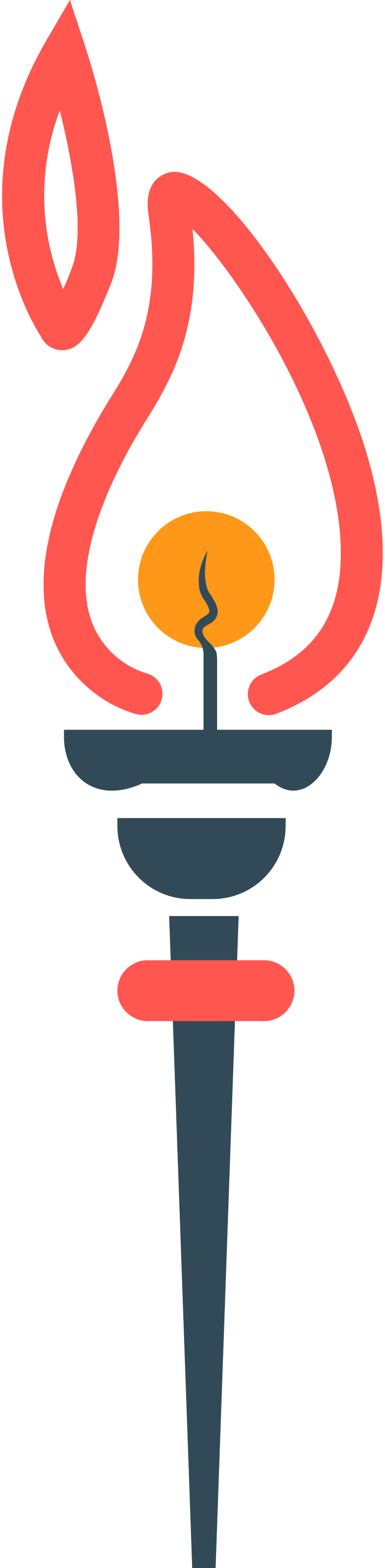 torch Clipart illustration in PNG, SVG