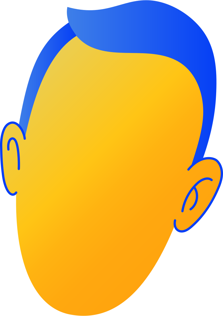 head Illustrazione clipart in PNG, SVG
