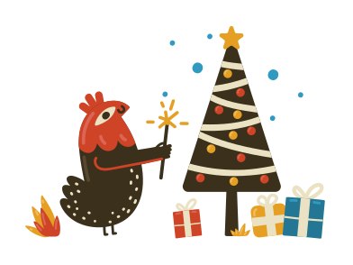 style Christmas time images in PNG and SVG | Icons8 Illustrations