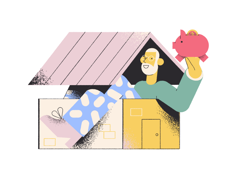style  I bought a house! Vector images in PNG and SVG | Icons8 Illustrations