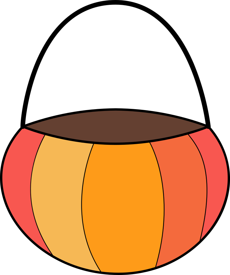 basket halloween Clipart illustration in PNG, SVG