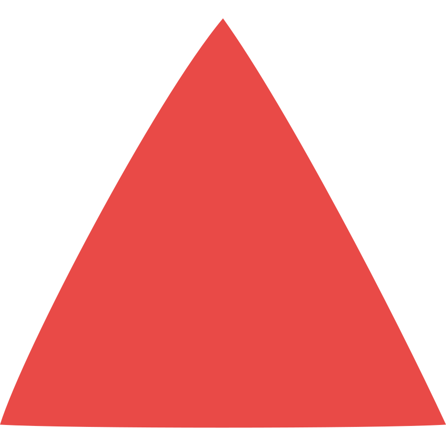 triangle red Clipart illustration in PNG, SVG