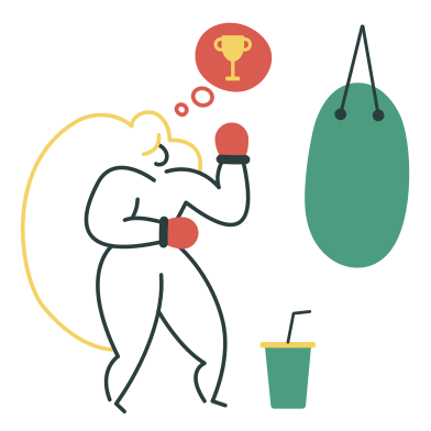 style Boxing images in PNG and SVG   Icons8 Illustrations