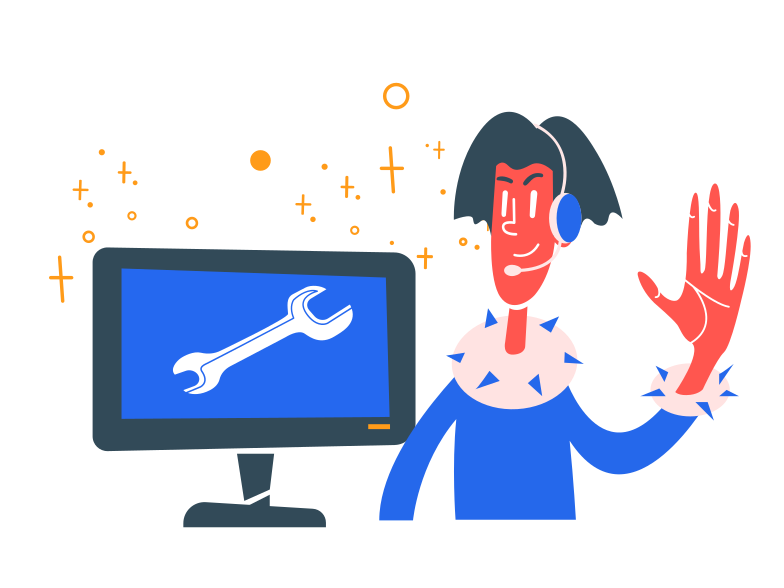 style Customer support Vector images in PNG and SVG | Icons8 Illustrations