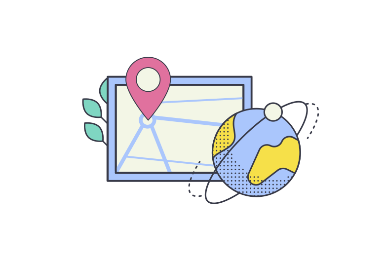 style Delivery map  Vector images in PNG and SVG | Icons8 Illustrations