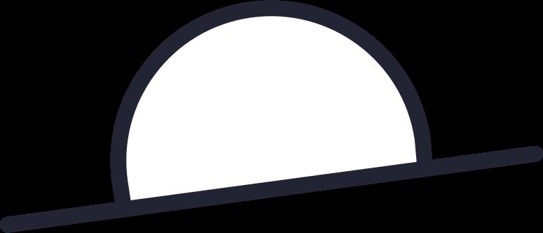 car rental  hat white Clipart illustration in PNG, SVG
