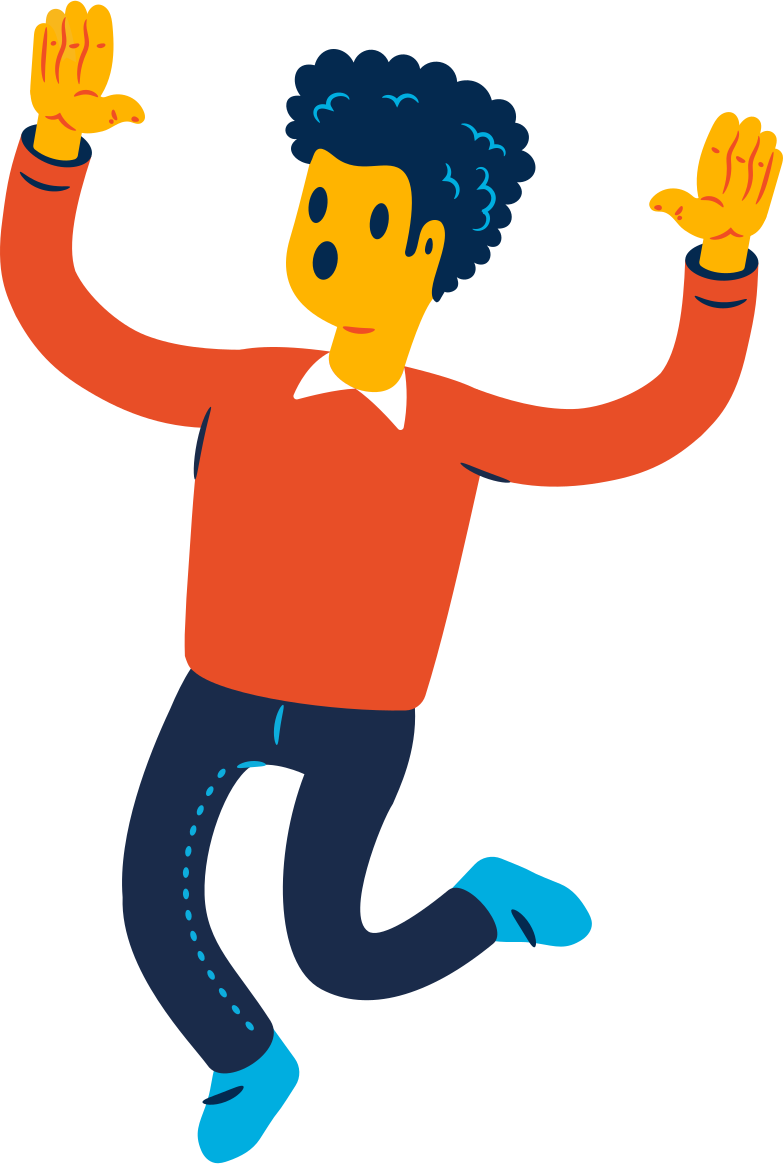 surprised person Clipart illustration in PNG, SVG
