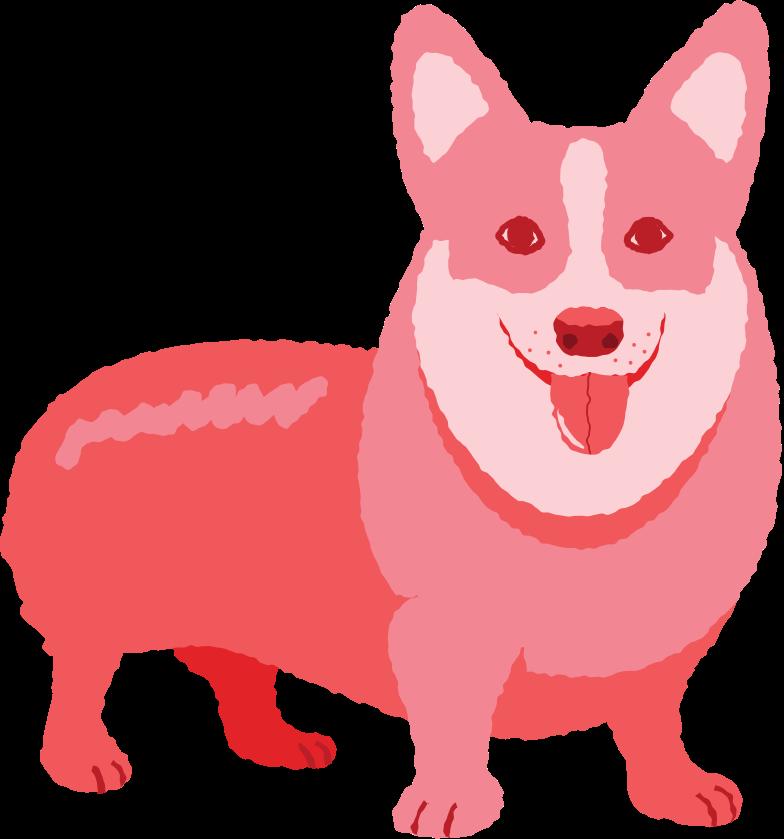 sitting dog Clipart illustration in PNG, SVG