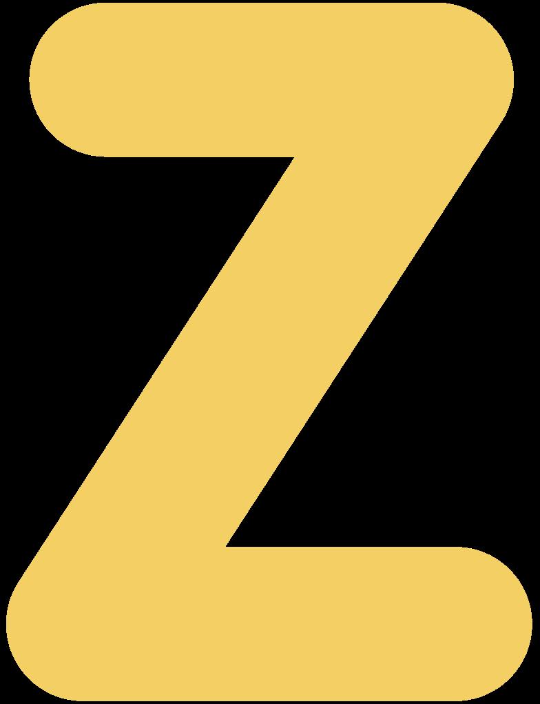 z Clipart illustration in PNG, SVG