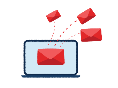 style E-mail marketing images in PNG and SVG | Icons8 Illustrations