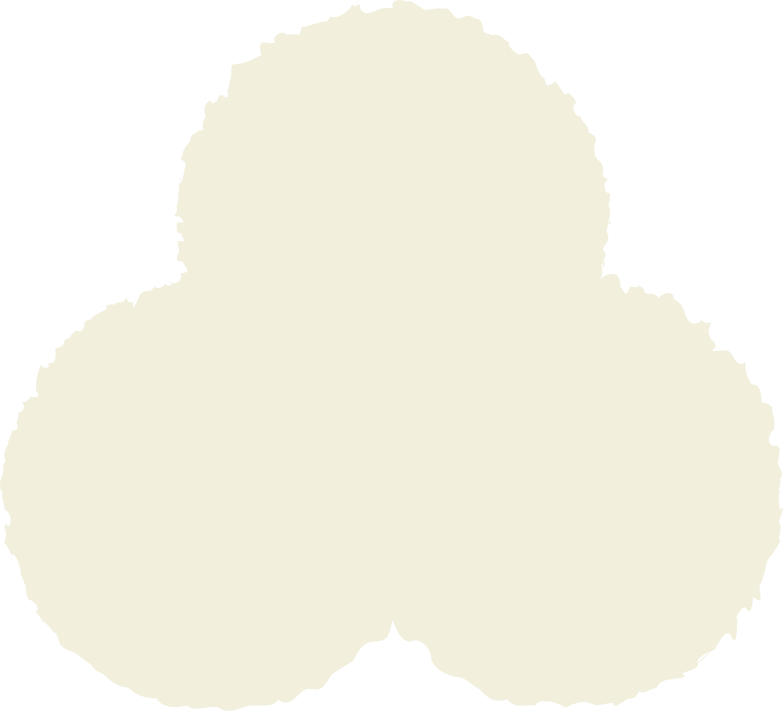trefoil beige Clipart illustration in PNG, SVG
