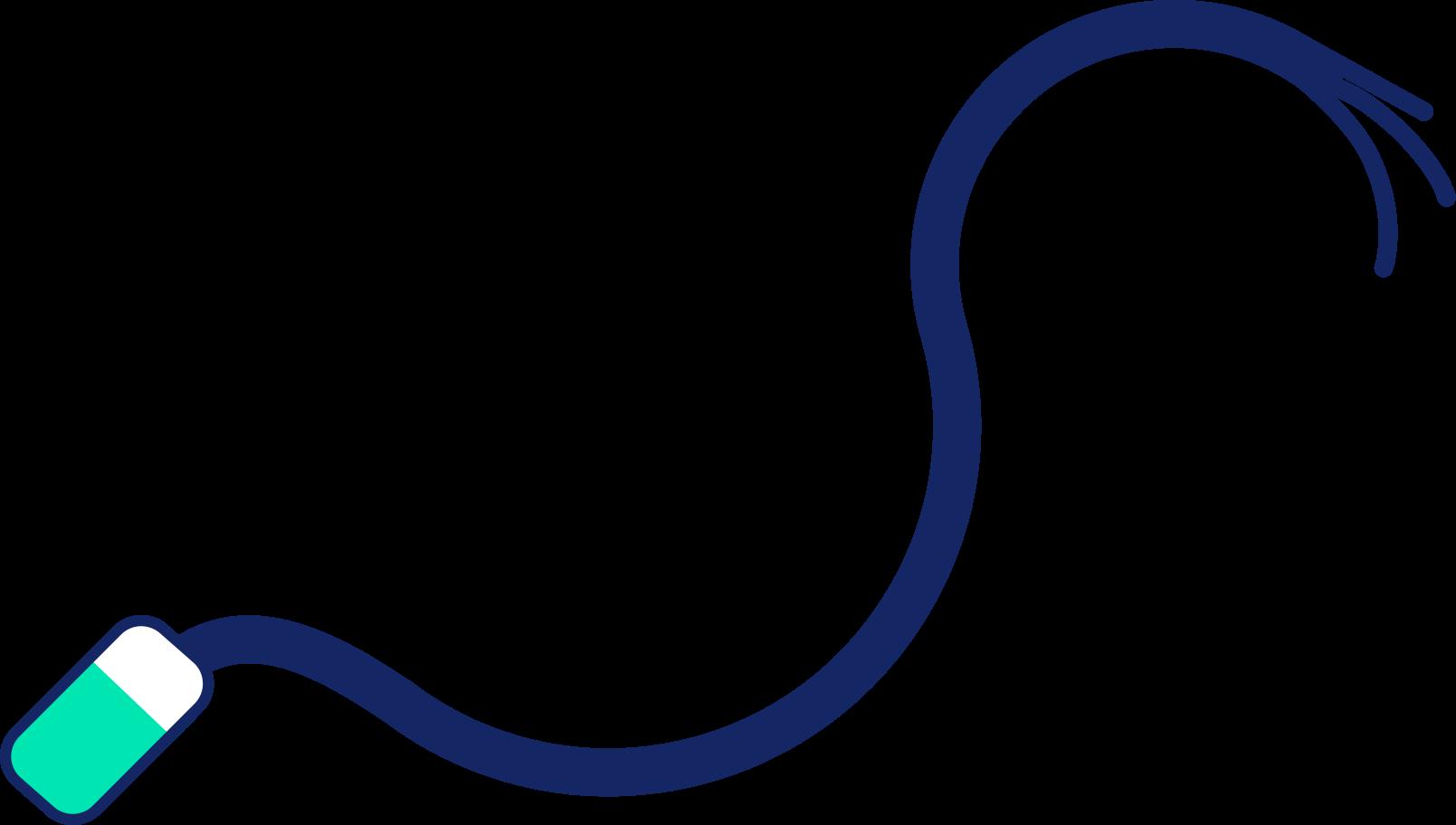 Ilustración de clipart de cable en PNG, SVG