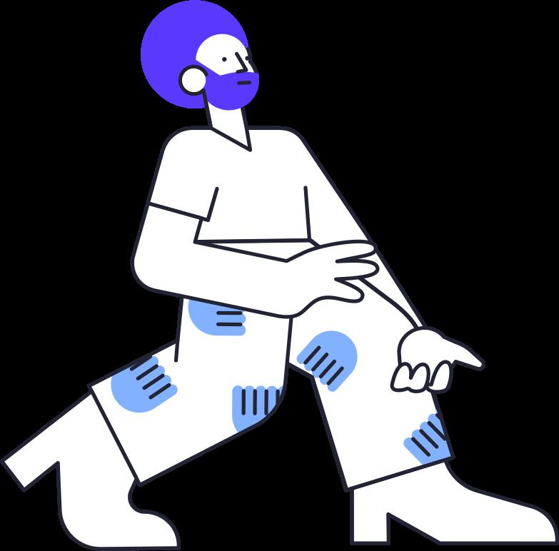 website design  man Clipart illustration in PNG, SVG