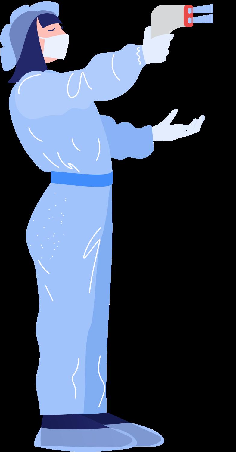 epidemiologist Clipart illustration in PNG, SVG
