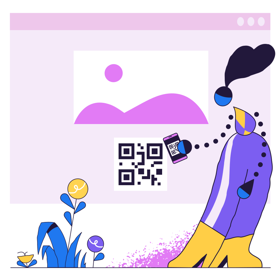 style QR code scan images in PNG and SVG | Icons8 Illustrations