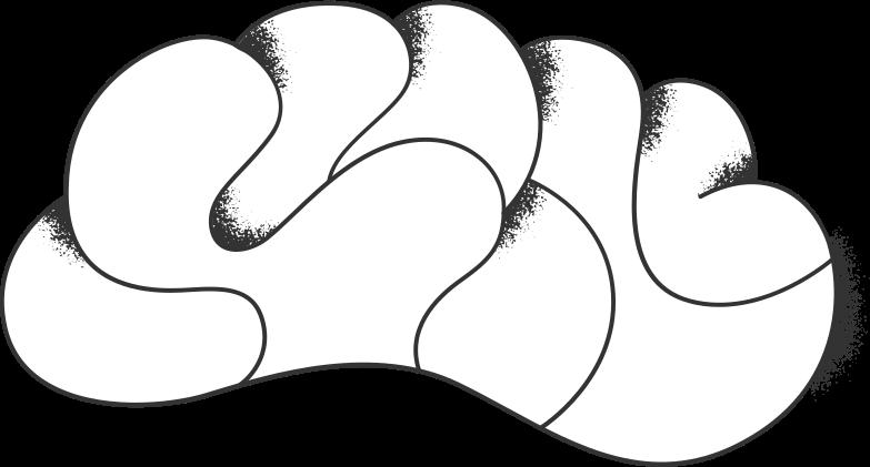 programming  brain Clipart illustration in PNG, SVG