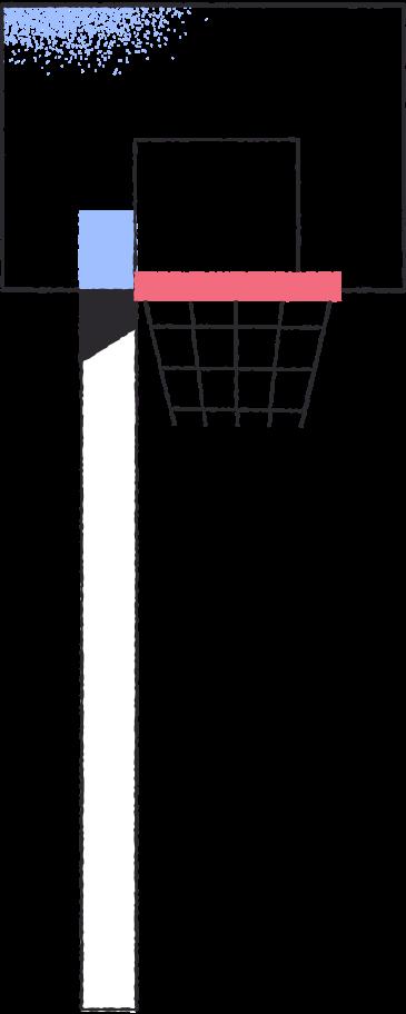 basketball basket Clipart illustration in PNG, SVG