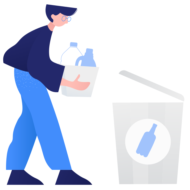 style Waste sorting- plastic Vector images in PNG and SVG | Icons8 Illustrations