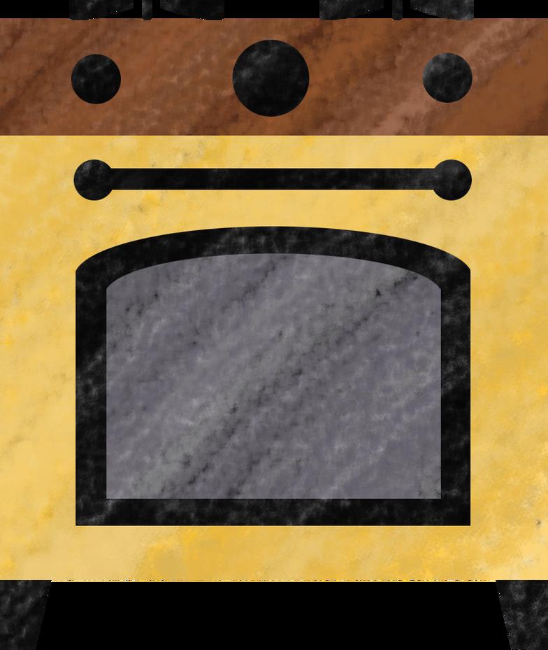 oven Clipart illustration in PNG, SVG