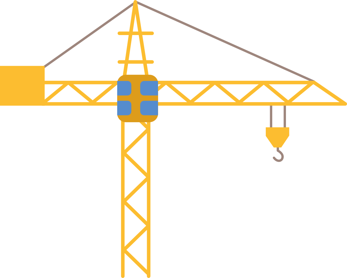 construction-crane Clipart illustration in PNG, SVG