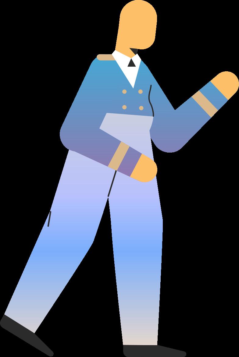 pilot Clipart illustration in PNG, SVG