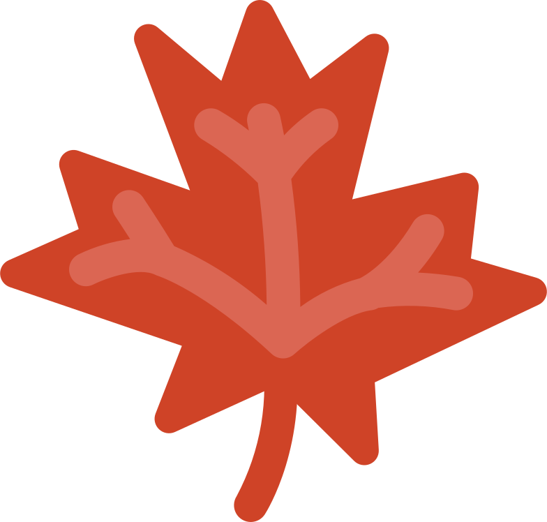 maple leaf Clipart illustration in PNG, SVG
