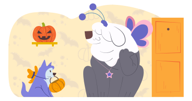 style Halloween candy hunt images in PNG and SVG | Icons8 Illustrations