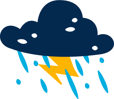 style wolkenbeleuchtung regen images in PNG and SVG | Icons8 Illustrations