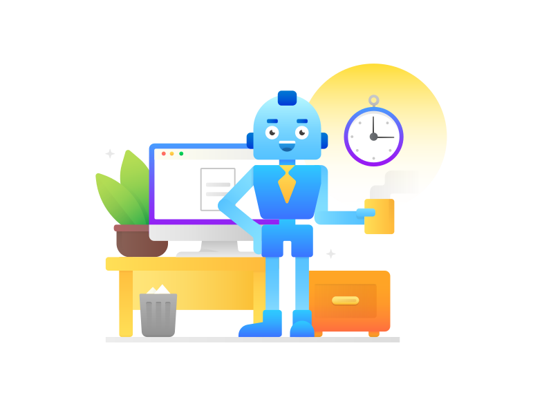 Artificial intelligence Clipart illustration in PNG, SVG
